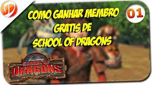 Sorteio - Como Ganhar 1 Mês de Membro no School of Dragons ...