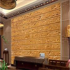 <b>beibehang Custom</b> Mural Wallpaper <b>Any size</b> 3D Egyptian relief ...
