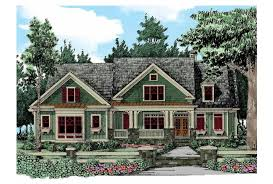Eplans Craftsman House Plan   Four Bedroom Craftsman   Square    Front