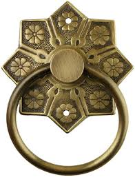 eastlake star pattern ring pull in antique by hand item r antique hardware furniture pulls