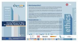 growing on ethics growing on ethics e leaflet