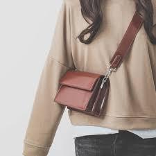 <b>women</b> leisure crossbody bag <b>pu leather solid</b> shoulder bag at ...
