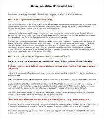 argumentative essay examples  free amp premium templates persuasive argumentative essay example