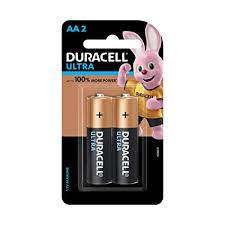 Buy Duracell Ultra Alkaline <b>AA</b> Batteries (Pack of 2) Online at Low ...