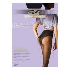 <b>Колготки OMSA</b> Beauty <b>Slim</b> 40 <b>женские</b>, цвет nero, размер 4 ...