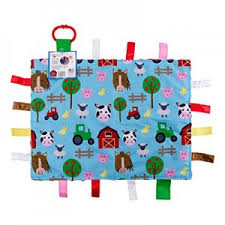 <b>Jungle</b> Crinkle Square and <b>Farm</b> Lovey from <b>Baby</b> Jack & Company