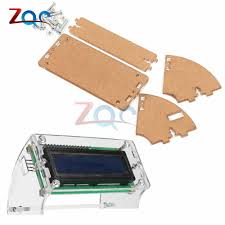 <b>Transparent Acrylic Shell</b> for LCD1602 LCD Screen with Screw/Nut ...