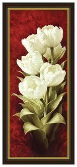 <b>Репродукция</b> Декарт Белые <b>тюльпаны</b> — купить по выгодной ...