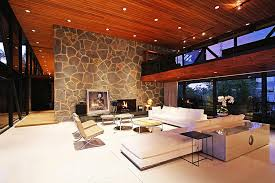 lighting living room complete guide: view in gallery lovely livng room after sunset