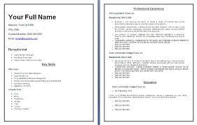 resume templates   best template sample  resume templates   pdf