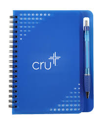 colorful notebook with matching pen item 1422 bags cool cru gear