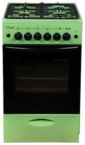 Комбинированная плита <b>Лысьва ЭГ 401 МС</b> зеленый — купить ...