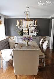 small dining bench:  ideas about small dining rooms on pinterest small dining dining rooms and dining room colors