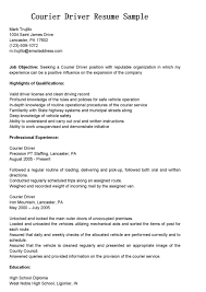 truck driver resume samples part time truck driver resume fullsize by teddy sher format courier bus driver resume sample and job history comes a