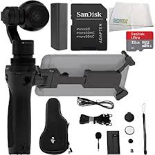 DJI Osmo Handheld <b>4K</b> Camera and <b>3-Axis Gimbal</b> Starters Bundle