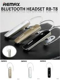 <b>WHITE</b> COLOUR GENUINE <b>REMAX RB</b>-<b>T8</b> Bluetooth 4.1 Wireless ...