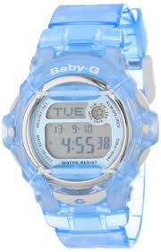 Casio Women s BG169R 2 Baby G Blue Whale <b>Digital Sport Watch</b> ...