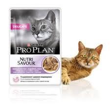 <b>Паучи</b> для кошек <b>Pro Plan</b> DELICATE <b>NUTRI</b> SAVOUR с ...