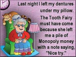 Tooth Fairy Funny Quotes. QuotesGram