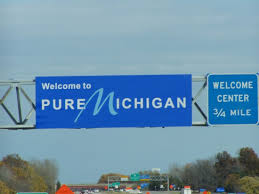 Image result for welcome to michigan sign