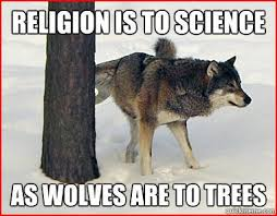 Laughing in Purgatory: Religion And Science Memes via Relatably.com
