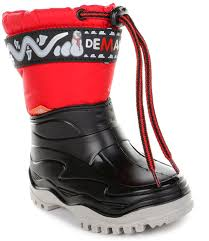 <b>Сноубутсы Demar Frost</b> (красные) - купить в интернет-магазине ...
