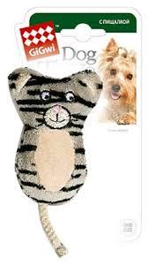 Купить <b>Игрушка</b> для собак <b>GiGwi Dog Toys</b> Кот без набивки ...
