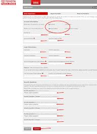 Toyota Financial Statement Toyota Financial Services Bill Pay Http Guide