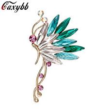 2019 Crystal S925 Silver <b>Ear</b> Cuff <b>Earrings</b> Korean <b>Butterfly Ear</b> ...