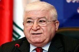 President Masoum receives Credentials of Palestinian Ambassador to Iraq