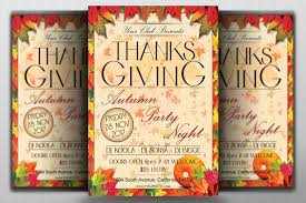 thanksgiving autumn party flyer template flyerroom thanksgiving autumn party flyer template