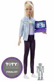 <b>Кукла Mattel</b> Барби Инженер-<b>робототехник</b> блондинка 30 см ...