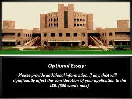 indian school of business essay topics amp deadline  words max  optional essay