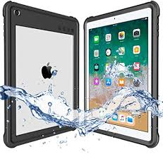 <b>ShellBox</b> Compatible for 2017/2018 <b>Waterproof Case</b> iPad 9.7 inch ...