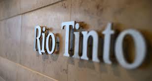 Resultado de imagem para RIO TINTO