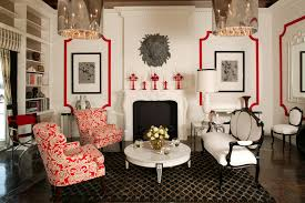 dartboard cabinet living room traditional with black chandelier crown molding fireplace lion molding red white chandelier barn board
