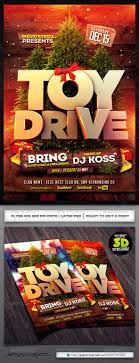 toy drive flyer template by industrykidz graphicriver toy drive flyer template events flyers