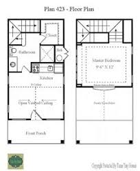 Tiny house  Floors and House on PinterestAnother Texas Tiny Home  Floor Plan Presentation x Interesting  The access to stairs and fl BR is through the BA  Is there a space saving advantage
