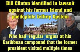 Image result for bill clinton jeffrey epstein