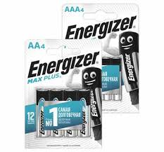 <b>БАТАРЕЙКА Energizer Max Plus</b>, 4 шт. в уп.