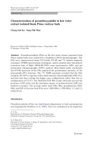 (PDF) Characterization of proanthocyanidin in hot water extract ...