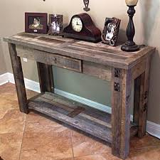 Rustic Sofa Table By BoondockRustics On Etsy  C