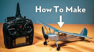 How To Make an Ultra <b>Micro</b> R/C <b>Plane</b> - YouTube