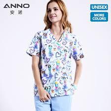 <b>ANNO Medical Clothing</b> Matching Women Men Cartoon Nurse ...