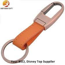 China Wholesale Custom Made <b>High Quality Leather Keychain</b> ...