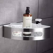 Online Shop <b>FLG</b> 304 Stainless Steel & ABS Plastic <b>Bathroom</b> Shelf ...