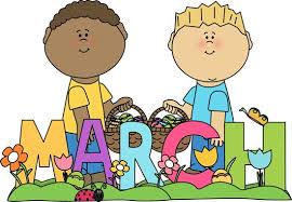 Image result for march calendar heading clipart