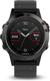 Garmin Fenix 5 Sapphire - Black with Black Band - Amazon.com