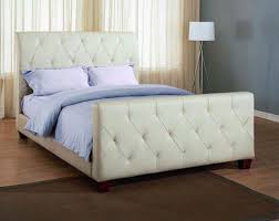 Traditonal Leather Bed With Modern Contemporary Style Bedroom Design  N