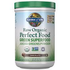 <b>Raw Organic Perfect</b> Food Green Superfood Powder Chocolate ...